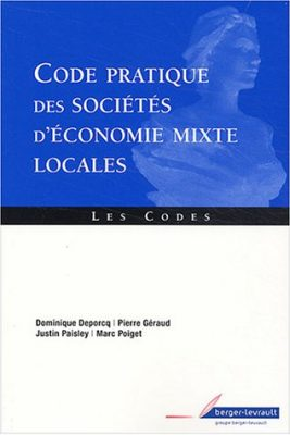 code pratique des sociétés d'économie mixte locales