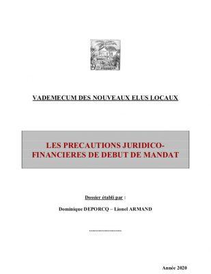 les-precautions-juridico-financieres-de-debut-de-mandat